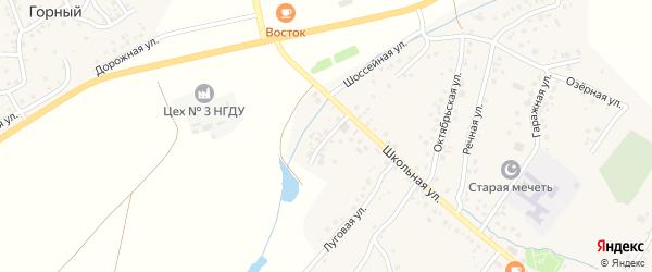 Школьный 2-й переулок на карте села Старых Туймазы с номерами домов