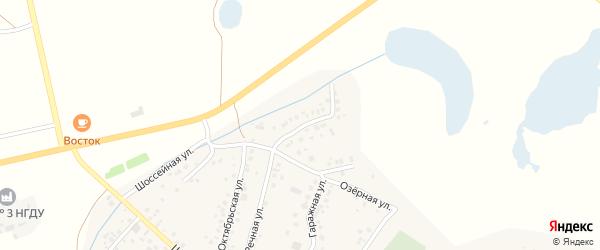 Набережная улица на карте села Старых Туймазы с номерами домов