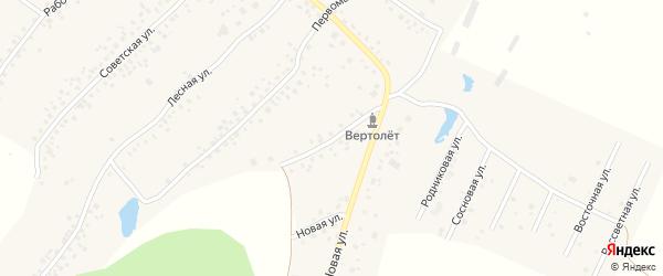 Улица Гарифуллина на карте села Старых Туймазы с номерами домов