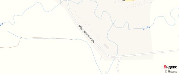 Молодежная улица на карте села Абдулкаримово с номерами домов