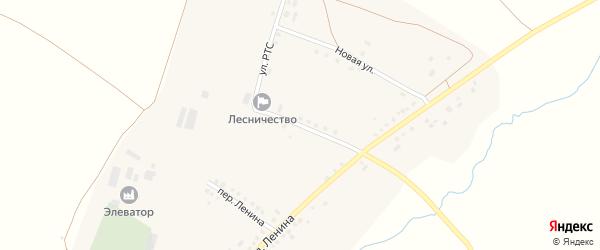 Улица РТС на карте села Мустафино с номерами домов