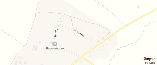 Новая улица на карте села Мустафино с номерами домов
