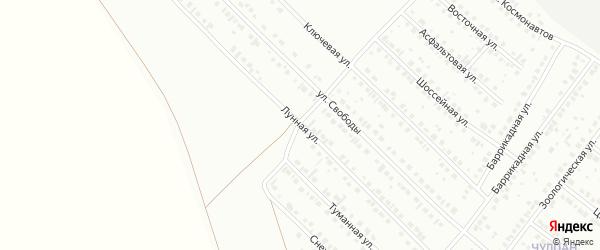 Лунная улица на карте Туймаз с номерами домов