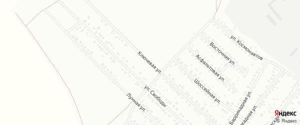 Ключевая улица на карте Туймаз с номерами домов