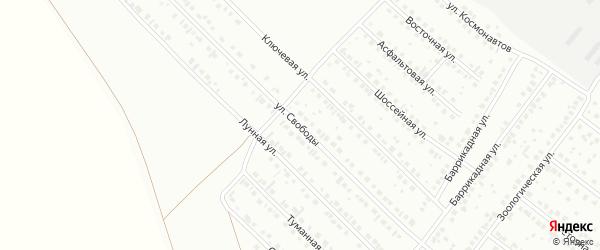 Улица Свободы на карте Туймаз с номерами домов