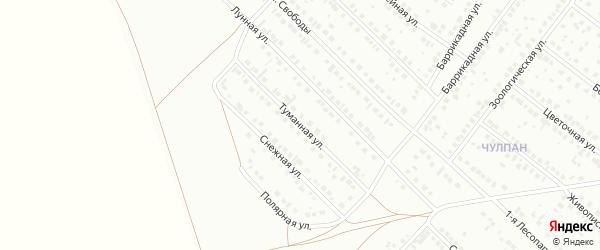 Туманная улица на карте Туймаз с номерами домов