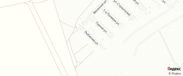 Улица Рыбакова на карте Туймаз с номерами домов