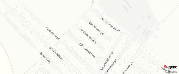 Асфальтовая улица на карте Туймаз с номерами домов