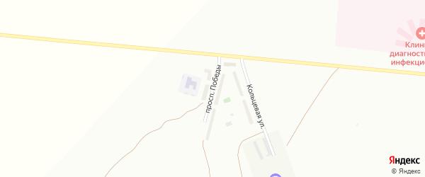 Проспект Победы на карте Туймаз с номерами домов