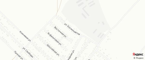 Улица Космонавтов на карте Туймаз с номерами домов
