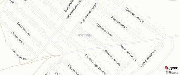 Гражданская улица на карте Туймаз с номерами домов