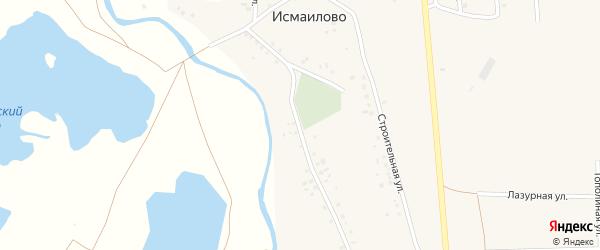 Полевая улица на карте деревни Исмаилово с номерами домов