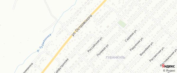 Улица Сайфутдинова на карте Туймаз с номерами домов