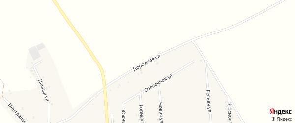 Дорожная улица на карте деревни Исмаилово с номерами домов