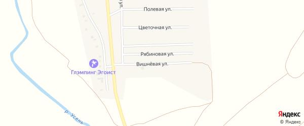 Вишневая улица на карте деревни Исмаилово с номерами домов