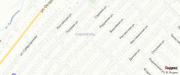 Радужная улица на карте Туймаз с номерами домов