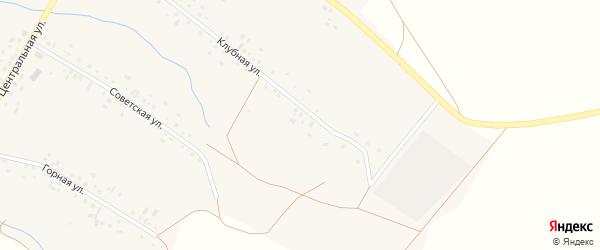 Речная улица на карте села Нижнезаитово с номерами домов