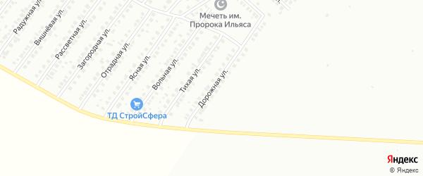 Дорожная улица на карте Туймаз с номерами домов