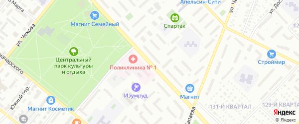 Улица Мичурина на карте Туймаз с номерами домов