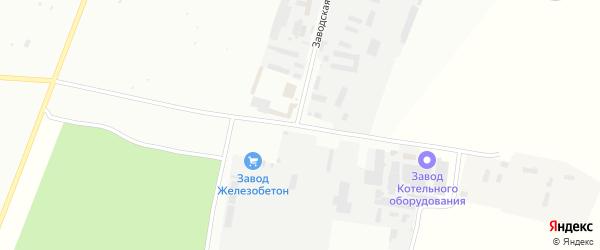 Заводская улица на карте Туймаз с номерами домов