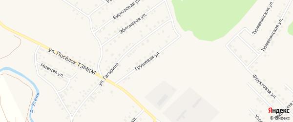 Грушевая улица на карте села Райманово с номерами домов