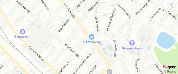 Улица Ленина на карте Туймаз с номерами домов