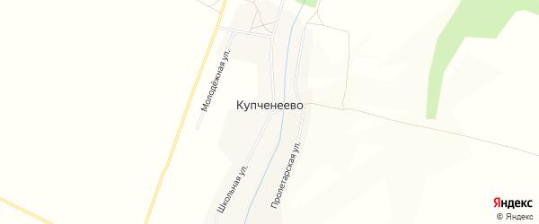 Карта села Купченеево в Башкортостане с улицами и номерами домов