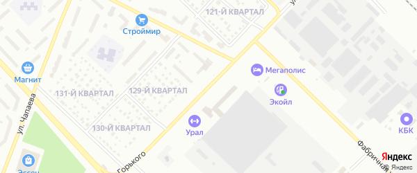 Улица Горького на карте Туймаз с номерами домов