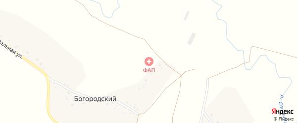 Центральная улица на карте деревни Богородского с номерами домов