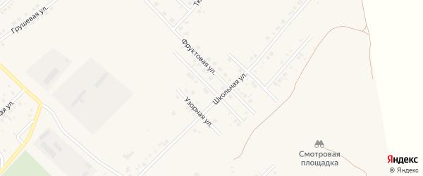 Новосельская улица на карте села Райманово с номерами домов