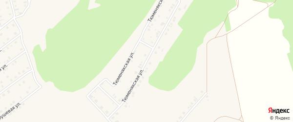 Тюменякская улица на карте села Райманово с номерами домов