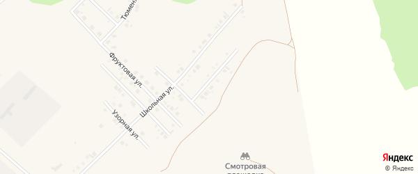 Улица Сергея Кирсанова на карте села Райманово с номерами домов