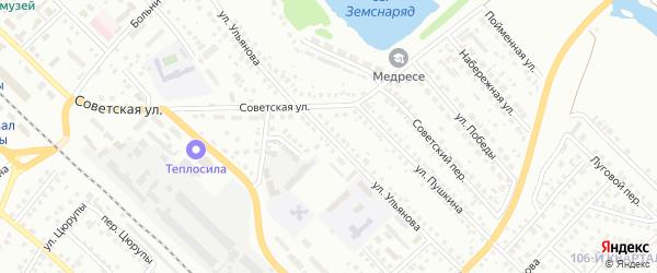 Улица Ульянова на карте Туймаз с номерами домов