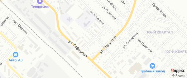 Улица Куйбышева на карте Туймаз с номерами домов