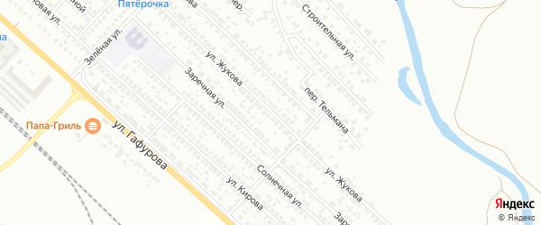 Улица Жукова на карте Туймаз с номерами домов