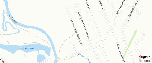 Улица Николая Байбакова на карте Туймаз с номерами домов