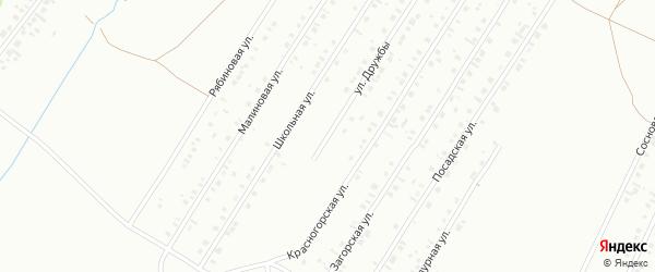 Улица Дружбы на карте Туймаз с номерами домов