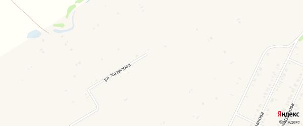 Улица М. Карима на карте села Бакалы с номерами домов