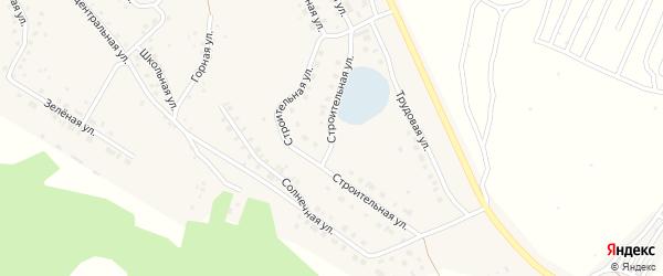 Строительная улица на карте села Серафимовский с номерами домов