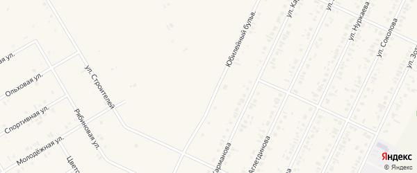 Юбилейный бульвар на карте села Бакалы с номерами домов