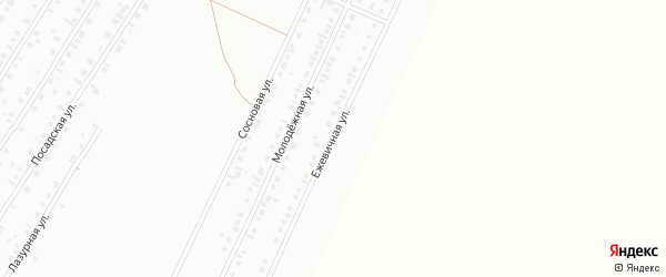 Ежевичная улица на карте Туймаз с номерами домов