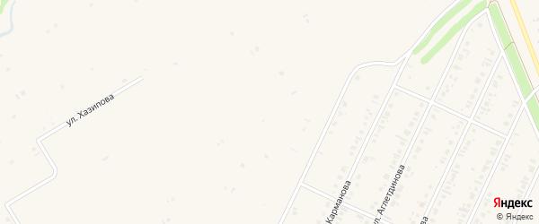 Улица Шаймуратова на карте села Бакалы с номерами домов