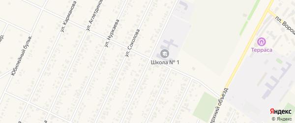 Улица Зотова на карте села Бакалы с номерами домов