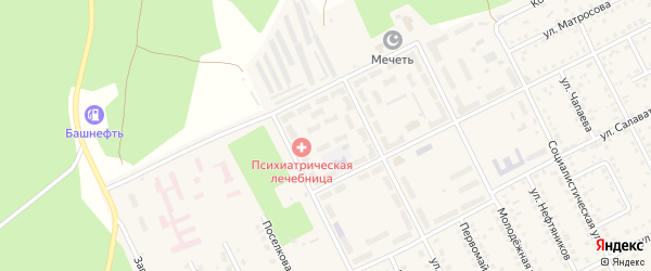 22-й квартал на карте села Серафимовский с номерами домов