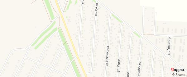 Тукая улица на карте села Бакалы с номерами домов