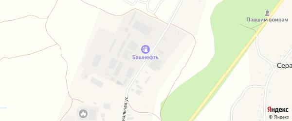 Индустриальная улица на карте села Серафимовский с номерами домов