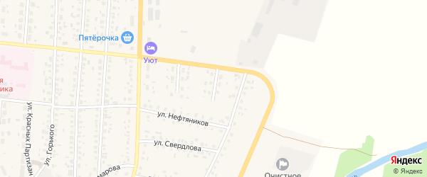 Колхозная улица на карте села Бакалы с номерами домов