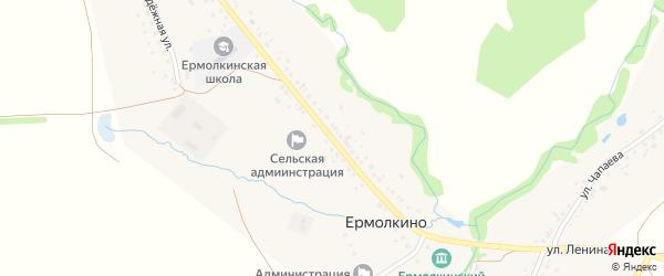 Улица Ленина на карте села Ермолкино с номерами домов
