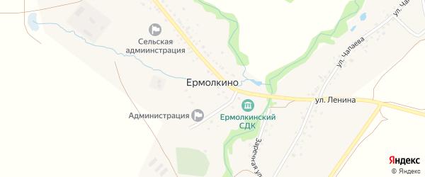 Полевая улица на карте села Ермолкино с номерами домов