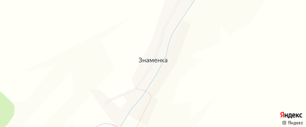 Карта деревни Знаменки в Башкортостане с улицами и номерами домов